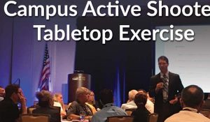Campus Active Shooter Tabletop Exercise