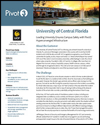 Pivot 3 Case Study: University of Central Florida