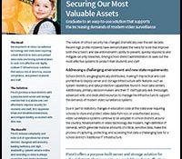 Pivot3 Solution Brief Download: K12 Surveillance