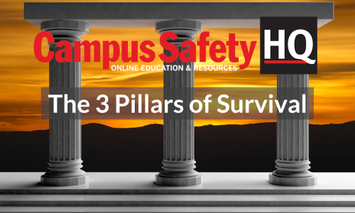The 3 Pillars of Surviving a Crisis