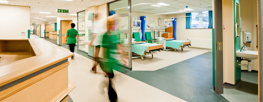 Securing Sensitive Areas on a Healthcare Campus