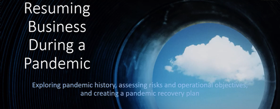 Business Continuity Planning During a Pandemic